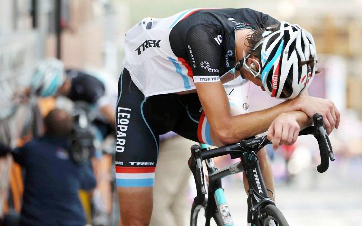 Pérdida de rendimiento del ciclista
