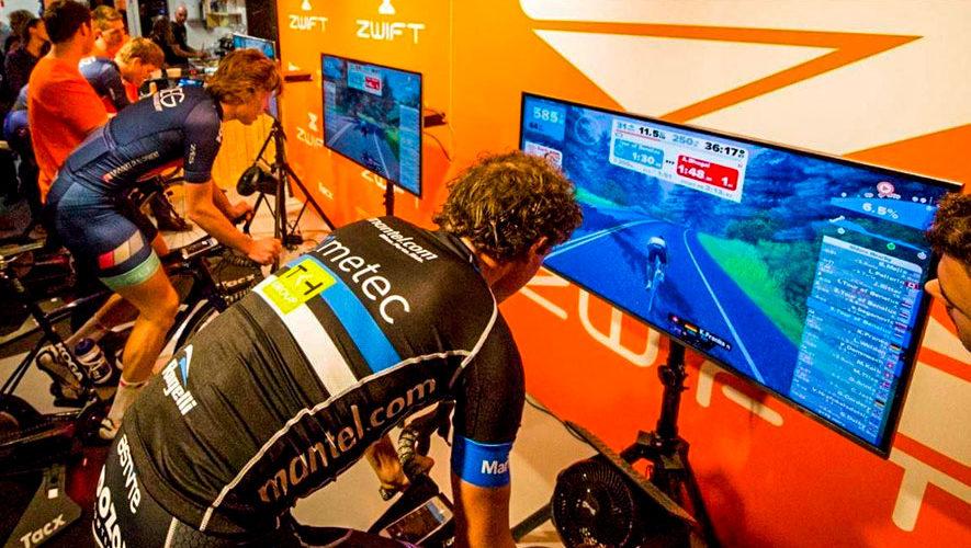 Mundial virtual de ciclismo