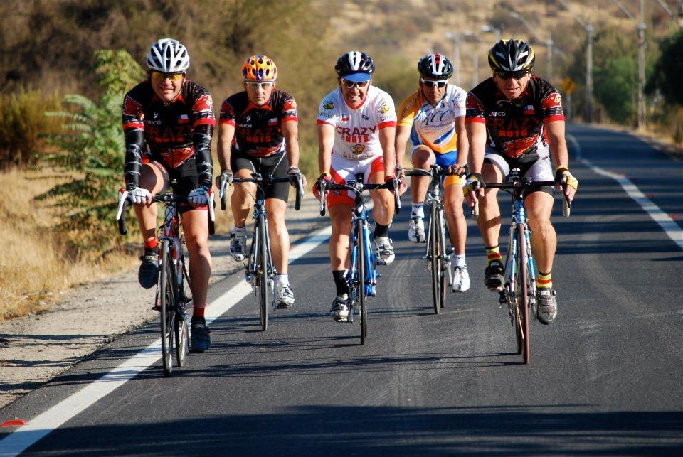 Ciclismo entre amigos