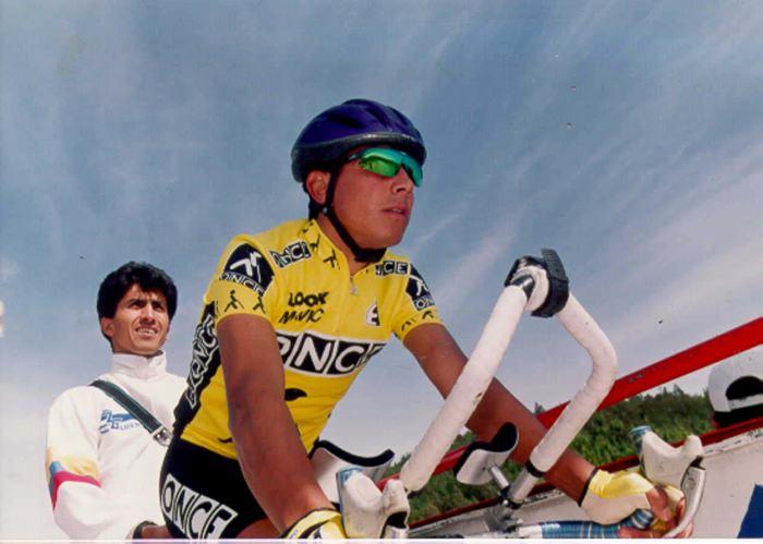 Oliverio Rincón también ganó en Lagos de Covadonga