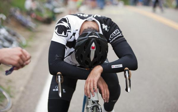 Ciclista y pérdida de forma