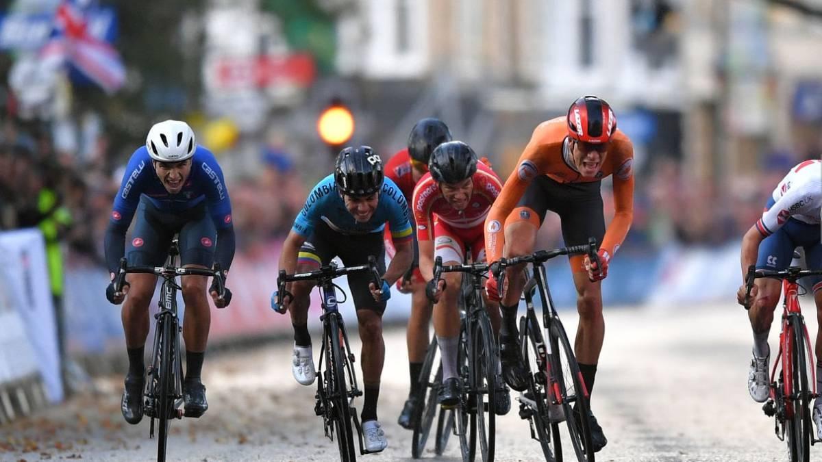 Higuita cuarto en el mundial de ciclismo
