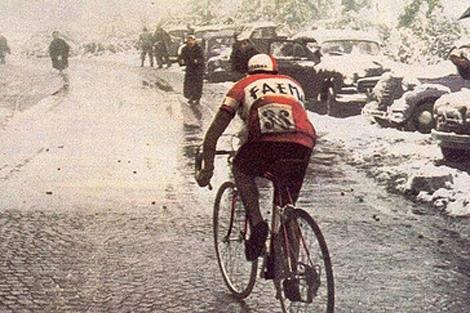 El monte Bondone hizo parte del Giro
