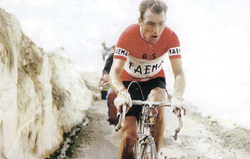 Charly Gaul en el Giro