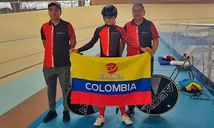 El récord de la hora es para un colombiano