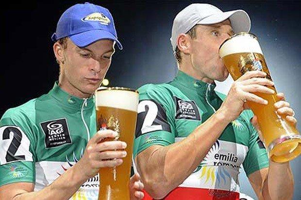 Ciclismo y cerveza