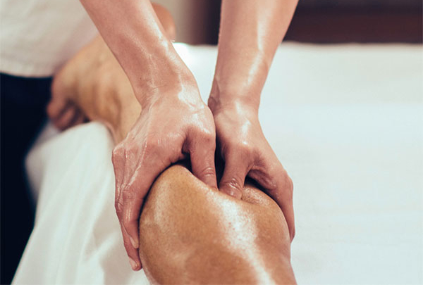 Recuperación con masajes de descarga