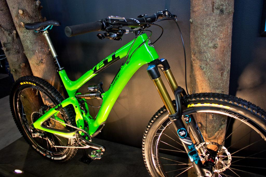 Verde, para ciclistas intuitivos
