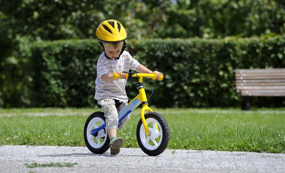 Niños y ciclismo