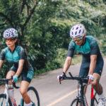 Efectos del sudor en ciclistas