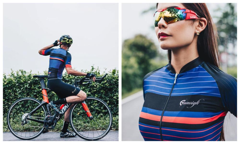 Luce como un auténtico ciclista en todos los caminos vistiendo los originales diseños de Navigli Clothing