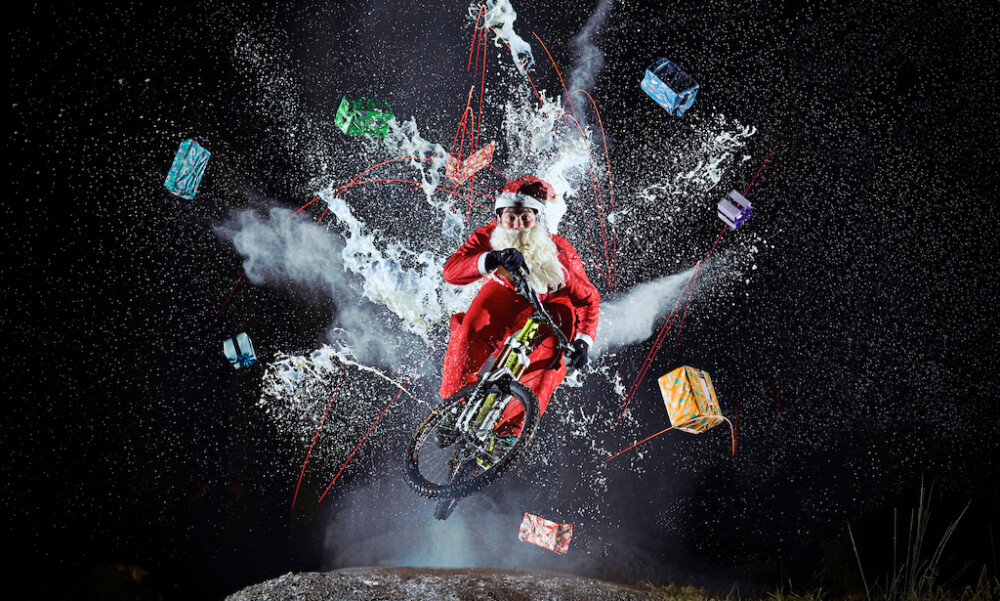Ciclismo en Navidad