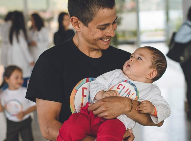 La campaña del Chavito para ayudar a niños