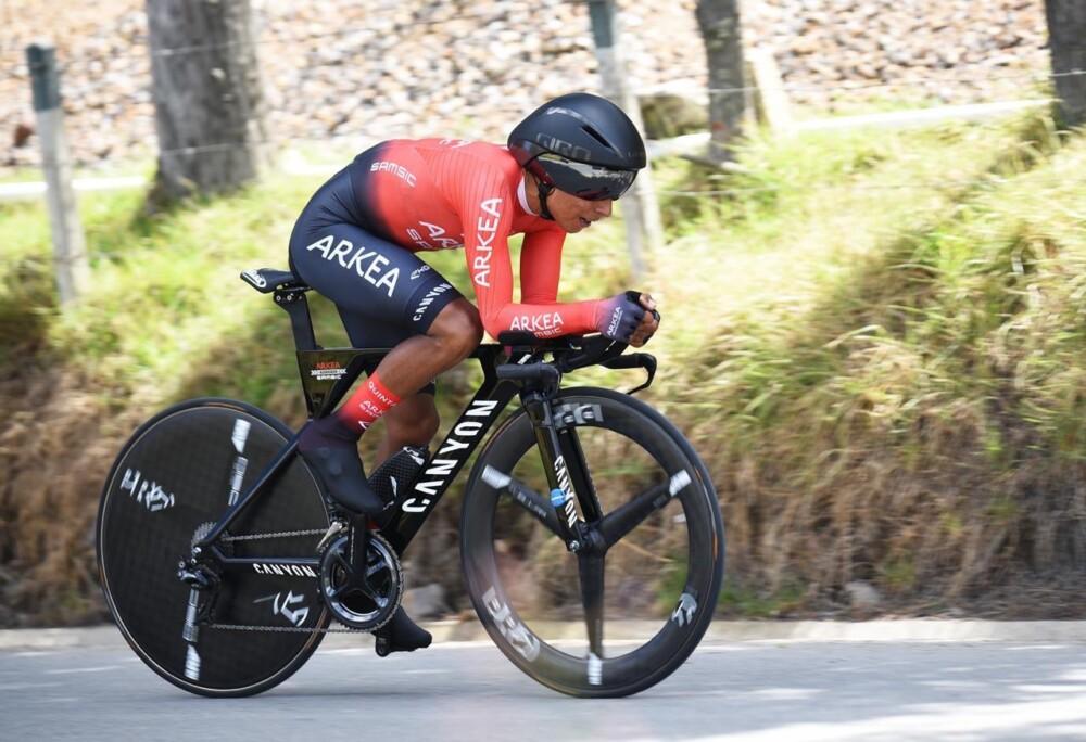 Nairo Quintana Subcampeón