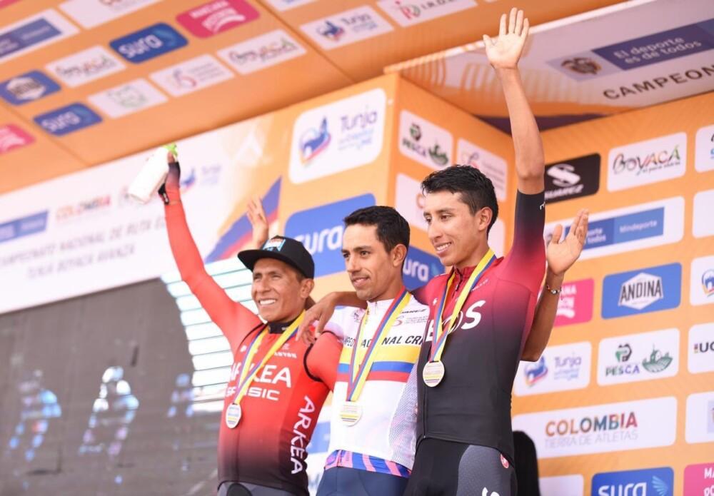 Daniel Martínez le ganó a Nairo Quintana