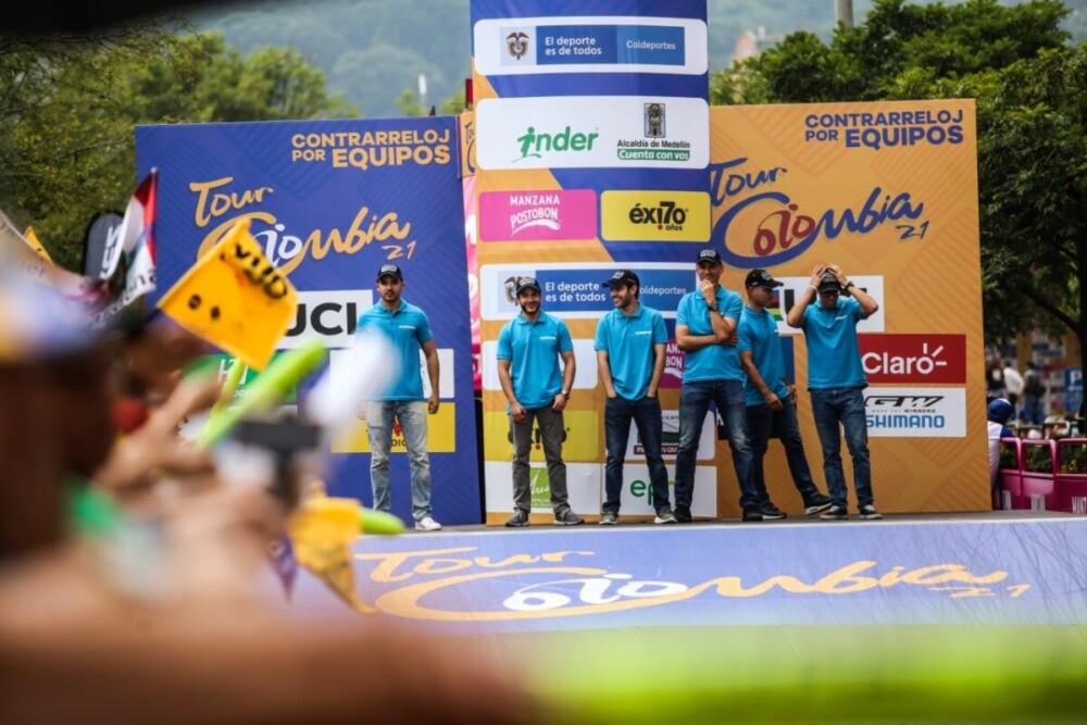 Los 'Blue Angels' (Ángeles Azules) de SHIMANO serán los mecánicos encargados de prestar el servicio técnico neutral en la tercera edición del Tour Colombia UCI 2.1 2020.