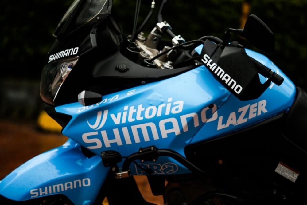 Los ángeles azules montarán las motos de SHIMANO