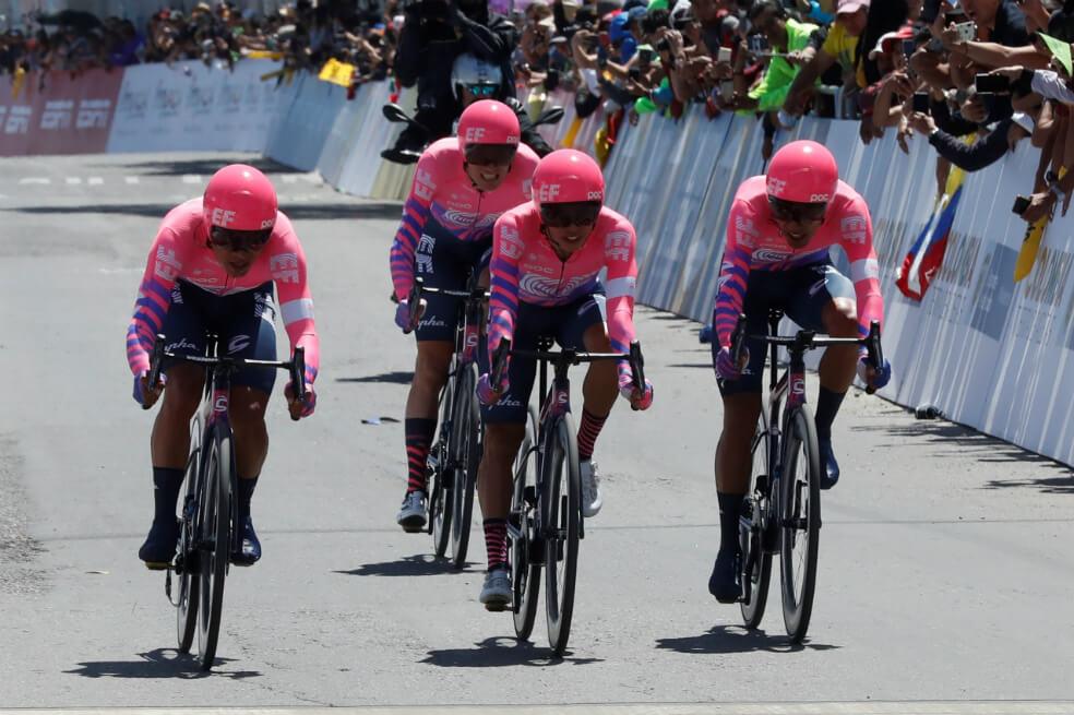 Rigo en el Tour Colombia