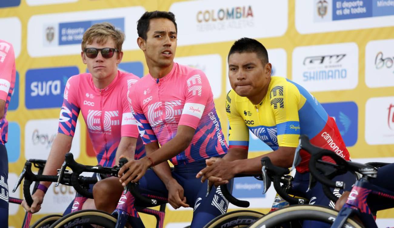 Caicedo en Tour Colombia