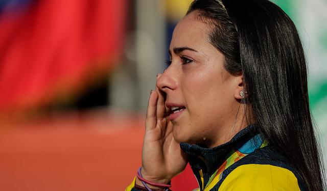 Con un corazón gigante, así es Mariana Pajón