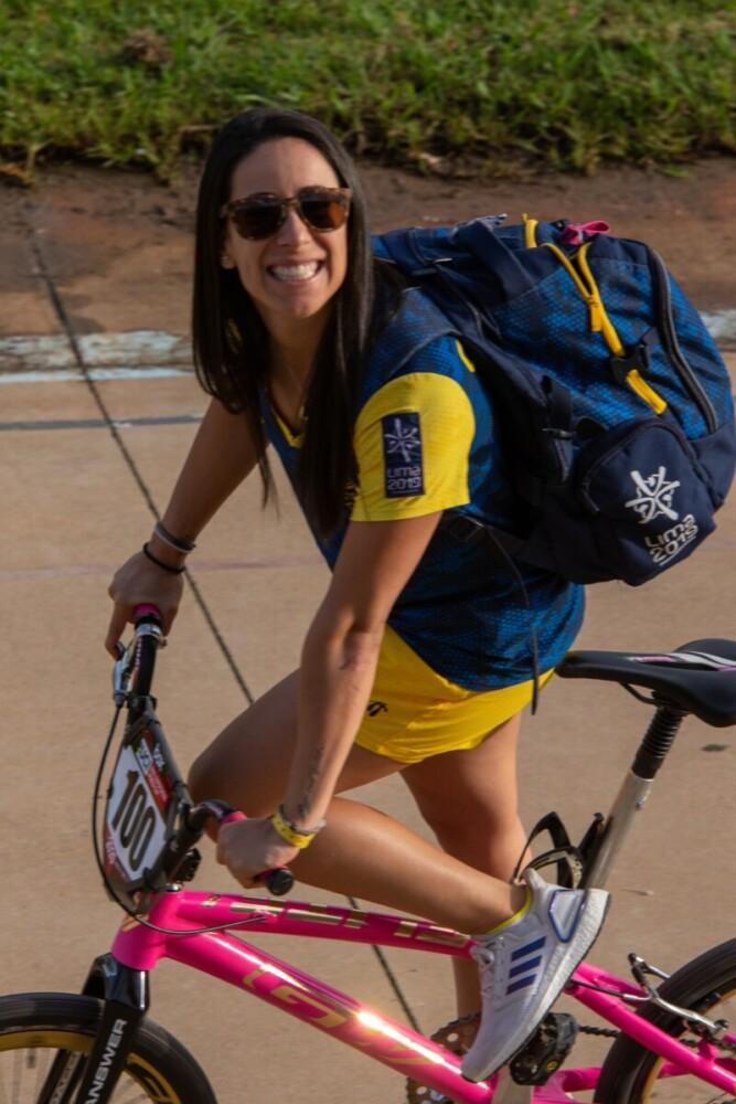 Colombiana con medalla de bronce en Australia