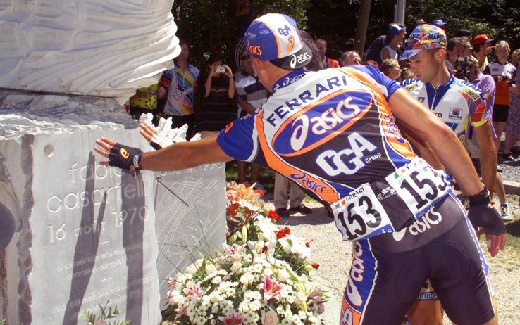 La muerte de Fabio Casartelli