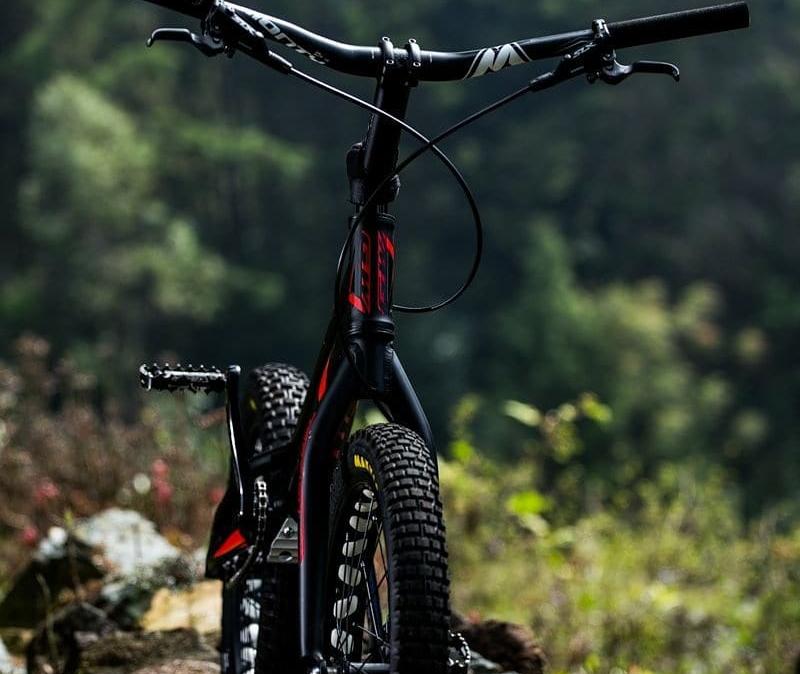 GW VERTIGO, una bici de trial para emocionarse