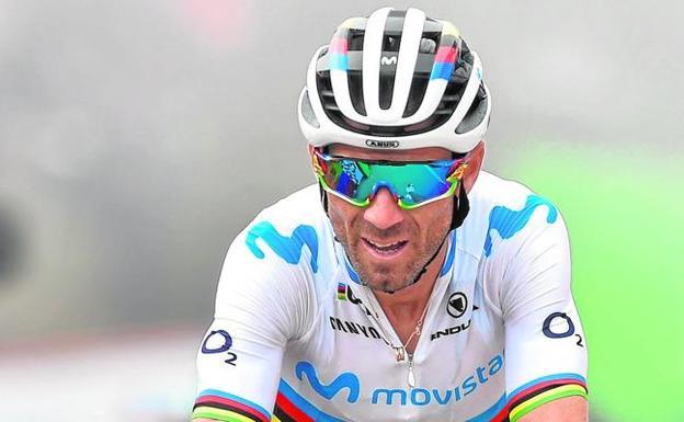 Alejandro Valverde, el ciclista veterano