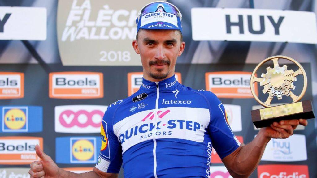 Julian Alaphilippe, uno de los ciclistas que más gana dinero