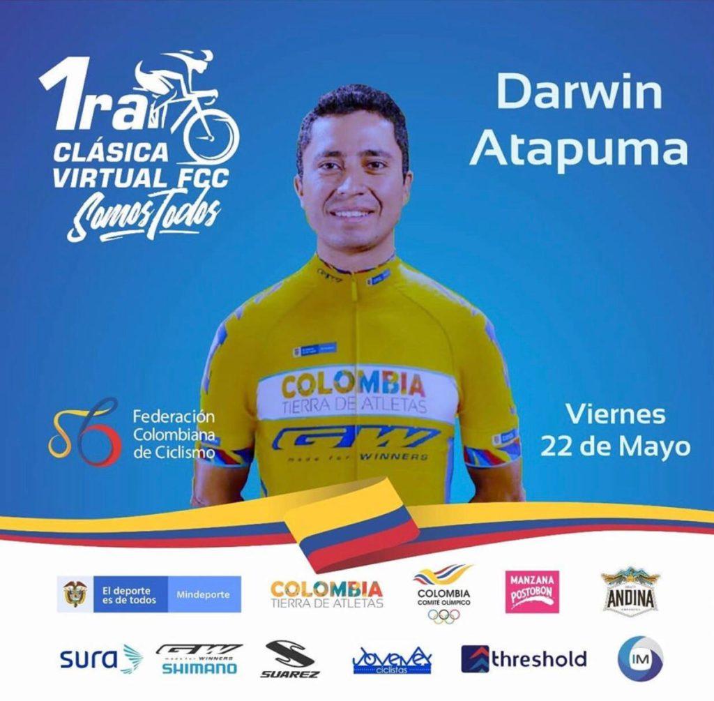 Colombia Tierra de Atletas estará presente en la jornada virtual