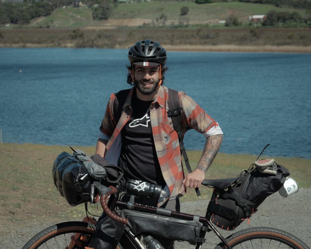 Mateo es un apasionado de las bicicletas