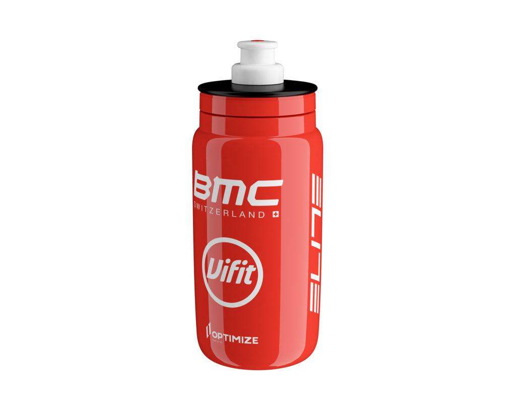 Equipo BMC rueda con termos Elite FLY TEAM
