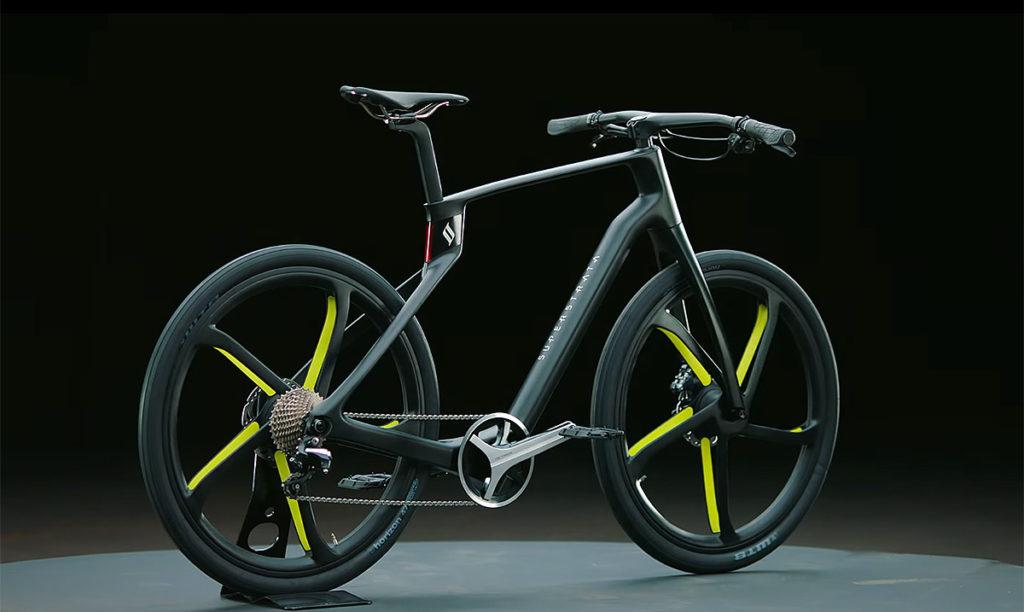 Bicicleta de carbono Superstrata