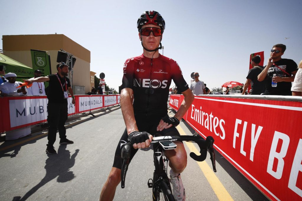 El corredor Chris Froome rumbo al Israel Start-Up Nation