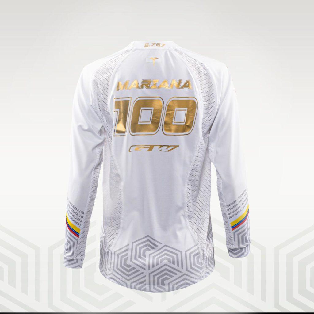 El jersey que lucirá Mariana Pajón