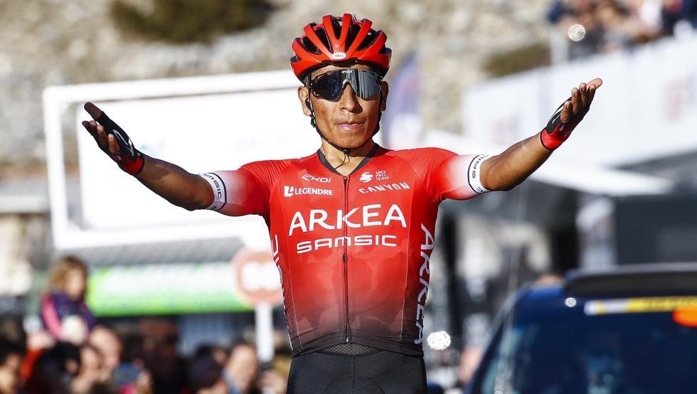El ciclista colombiano Nairo Quintana del equipo francés Arkéa-Samsic volverá a competencia el próximo jueves 6 de agosto en el Mont Ventoux Dénivelé Challenge.