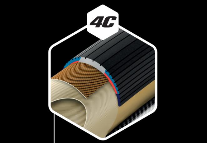 Todas las cubiertas de carretera de Vittoria, así como las de MTB, incorporan tecnología de compuesto de grafeno 4C