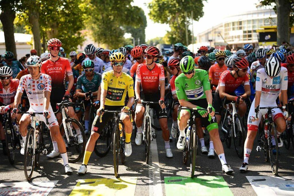 Los maillots del Tour de France