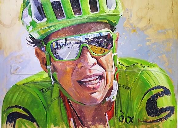 Rigo, protagonista del Tour de France