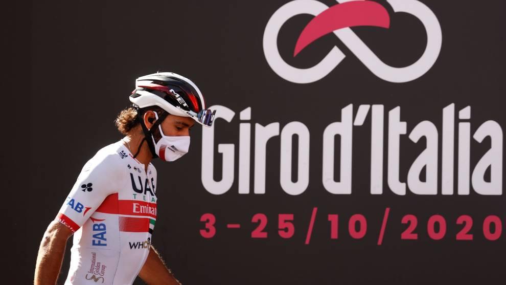 Fernando Gaviria abandonó el Giro de Italia tras volver a contagiarse con covid-19