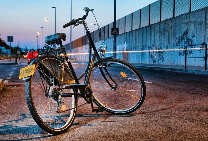 Catadióptricos para bicicleta