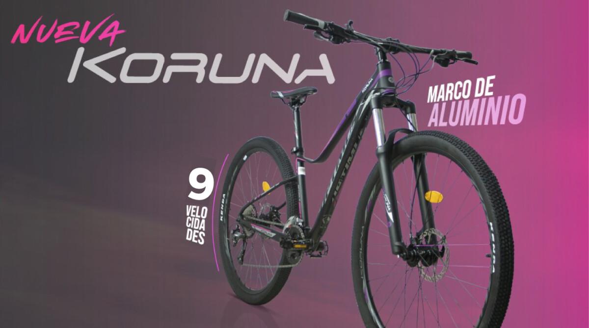 Conoce la nueva Optimus Koruna, una MTB diseñada exclusivamente para las mujeres ciclistas