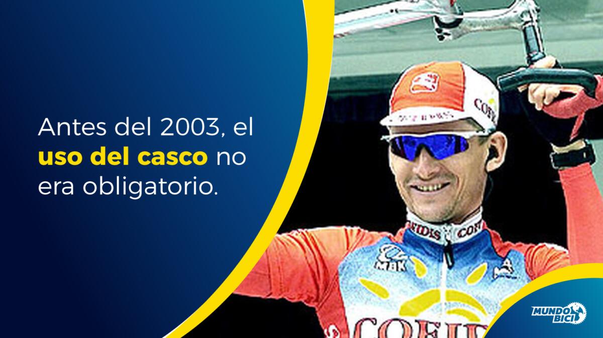 El trágico accidente que llevó a la UCI a exigir el uso obligatorio del casco