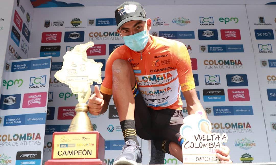 Conozca el perfil de Diego Camargo, el nuevo campeón de La Vuelta a Colombia 2020