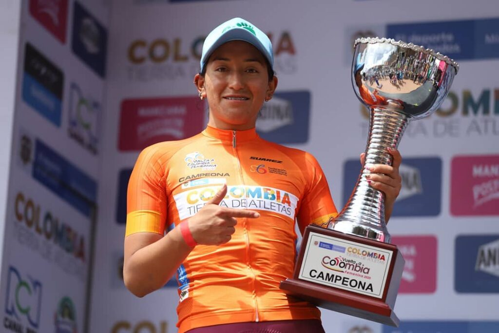 Myriam Nuñez campeona Vuelta a Colombia 2020