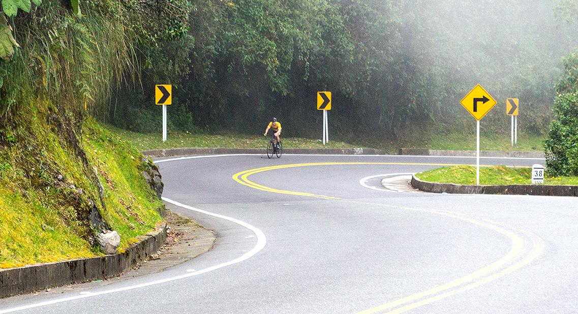 ¿Es el Alto de Letras en Colombia el puerto de montaña más largo del mundo?