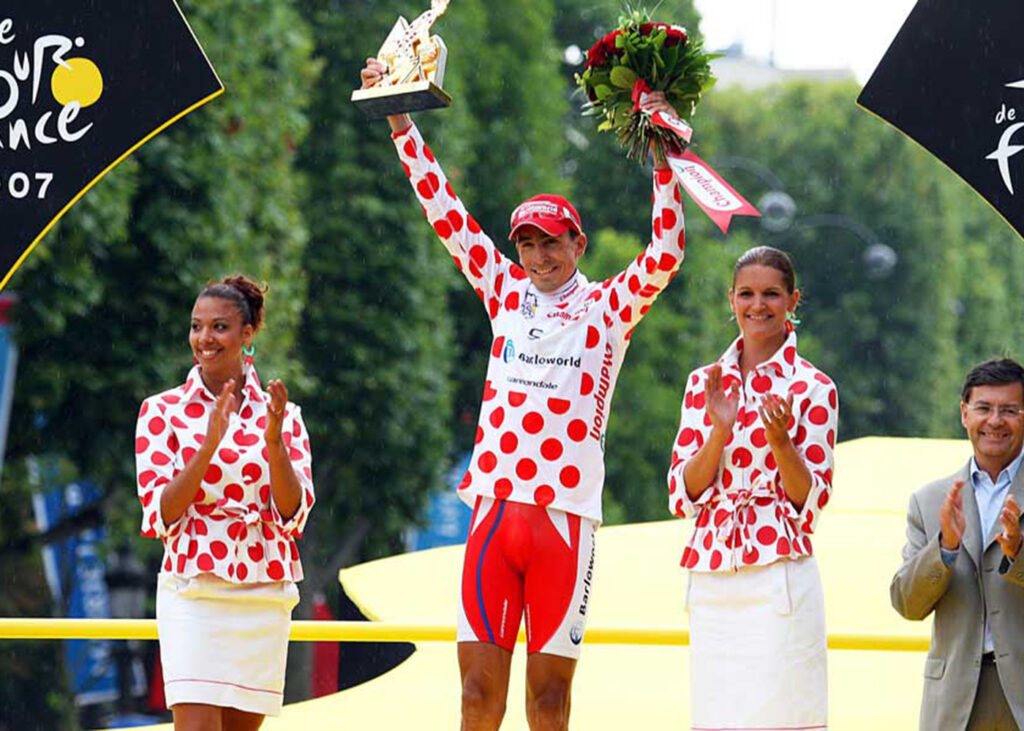 El ciclista Mauricio Soler