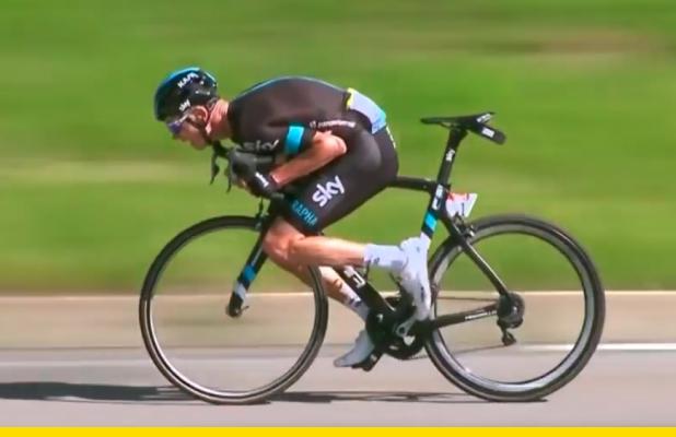 ¿Por qué la UCI prohibió la posición 'supertuck' de Chris Froome?