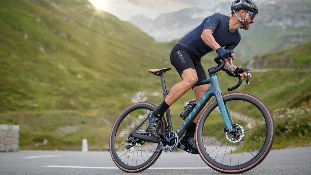 Espectacular bicicleta de carretera eléctrica