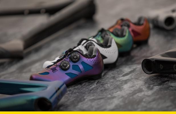 Transfiere potencia en cada pedalazo con las nuevas zapatillas de GW